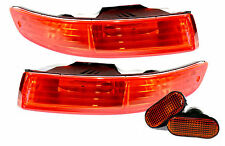 98-01 Acura Integra DC Bumper Turn Signals + Side Markers Blinkers JDM Amber