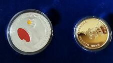 CCY~Set Of 2 coin, Table Tennis Coin, Malaysia Coin, BU/UNC, RM1&RM10.Cert No83