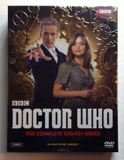 DOCTOR WHO: Complete Eighth Series - MINT NEW 5-DISC DVD SET!!