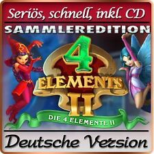 Die 4 Elemente II - 4 Elements 2 SAMMLEREDITION - PC Windows XP / VISTA / 7 / 8