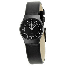 Skagen Black Ceramic Ladies Watch 233XSCLB