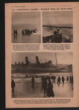 WWI Northern Pacific Liner New-York/ Elections Berlin Germany 1919 ILLUSTRATION