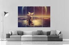 BOUDDHA PAIX D'ESPRIT PEACE OF MIND Wall Art Poster Grand format A0 Large Print