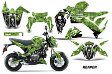 AMR Racing Kawasaki Z125 PRO Graphic Kit Dirt Bike Decals MX Wrap 2017 REAPER G