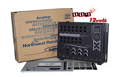 AudioControl EQX Gray Trunk-Mount 2-Channel Equalizer with 2-Way Crossover
