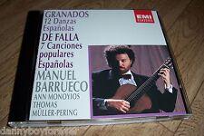 Enrique Granados Manuel de Falla NM CD 12 Danzas Espanolas 7 Canciones populares