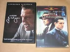 LOT 2 DVD / TRUE CONFESSIONS + J. EDGARD / DI CAPRIO / TRES BON ETAT