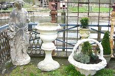 Vase Pflanzgefäß Blumentopf Jardiniere urn Brunnen Klassizismus Pflanztopf Trog