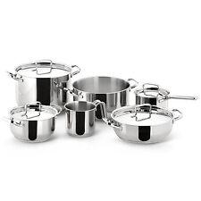 LAGOSTINA Batteria Pentole SFIZIOSA 10 pz Inox18/10 induzione induction cookware