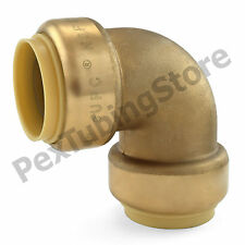 """1"""" Sharkbite Style (Push-Fit) Push to Connect Lead-Free Brass Elbow Fitting"""