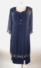 Bagatelle Kostüm 44 Dreiteiler Rock, shirt  Tunika blau elegant neu m Etikett