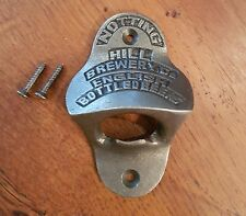 Notting Hill Cast Iron Antique Style Wall Mounted Bottle Opener