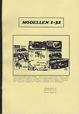 Scale Models 1:32 Modellen • 1990 • Private Edition • Dutch • GOOD CONDITION
