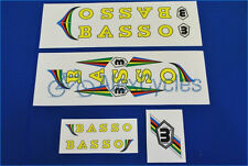 Vintage Campagnolo BASSO Decals Set + 17 Gift Stickers