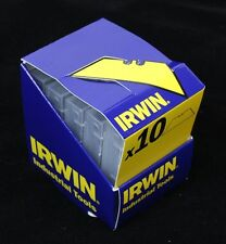 IRWIN 10504715 Carbon Steel Trapezoid Stanley Knife Blades Pack of 100