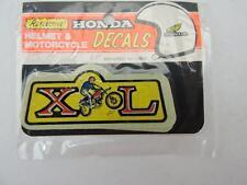 NOS Vintage Honda Helmet Sticker XL125 XL250 XL350 XL500 Enduro S432