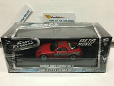 Fast & Furious * Dom's 1993 Mazda RX-7 * Greenlight 1:43 Scale * W