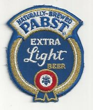 1980's Pabst Extra Light Beer Uniform Patch - Milwaukee, WI