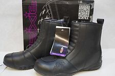 Joe Rocket Trixie Womens Boots Black - Size 10 / 10.0 Leather Motorcycle Bike