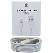OEM Original Genuine Apple iPhone 7 6S Plus iPhone 5S Lightning Charger Cable 1M