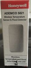 Brand New Honeywell 5821 Wireless Temperature Sensor & Flood Detector w/ Battery