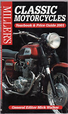 MILLER'S CLASSIC MOTORCYCLES YEARBOOK & PRICE GUIDE 2001 motor cycle