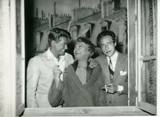 COCTEAU JEAN MARAIS YVONNE DE BRAY LES PARENTS TERRIBLES 1948 PHOTO ORIGINAL