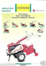 Farm Equipment Brochure - LG Machinery - GM710 - Cultivator (F3216)