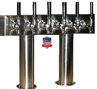 Draft Beer Tower Keg Tap Tower Beer Parts -PT6SS- MADE IN THE USA !!