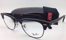 New RAY-BAN CLUBMASTER Rx-able Eyeglasses/Frames RB 5154 2077 49-21 Matte Black