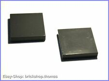 Lego 2 x Fliesen grau (2 x 2) - 3068b - Tile Dark Bluish gray - NEU / NEW