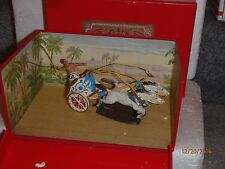 CBG Mignot Toy Soldiers of France Set 801 Julius Caesar Roman Chariot Mint Box