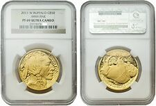 USA 2011-W Buffalo 50 Dollars Gold 1 oz Coin NGC PF-69