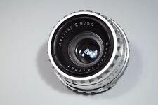 E. Ludwig MERITAR 50mm F2.9 F1:2.9 lens lente M42 No.1617681 RARE!!