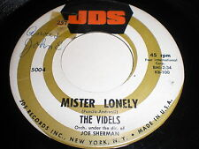 The Videls: Mister Lonely / I'll Forget You 45