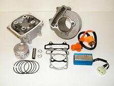 Chinese Scooter 150cc Big Bore 61mm GY6 Cylinder Kit Chinese Racing CDI & Coil