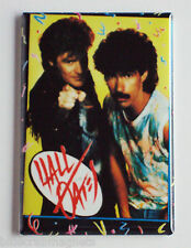Hall & Oates FRIDGE MAGNET (2.5 x 3.5 inches) concert poster music
