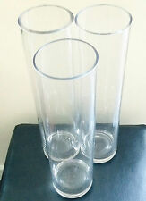 Wedding Cylinder vase for hire 40cm tall centrepieces – 50 in total available!