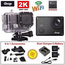 Gitup Git2 Pro Waterproof 16M 2K Action Camera+Battery+8in1 Accessories+Charger