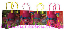 6 PC TROLLS GOODIE BAGS PARTY FAVORS CANDY LOOT TREAT BIRTHDAY BAG DREAMWORKS