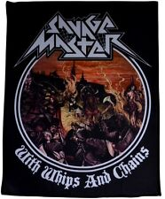 SAVAGE MASTER - With Whips And Chains  [Large Printed Backpatch]