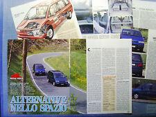 AUTO995-RITAGLIO/CLIPPING/NEWS-1995-CITROEN EVASION  vs PEUGEOT 806 -6 fogli