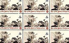 1973 - POSTING BROADSIDE - #1477 Full Mint -MNH- Sheet of 50 Postage Stamps