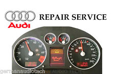 AUDI TT INSTRUMENT SPEEDOMETER CLUSTER DASH PIXEL DISPLAY - REPAIR SERVICE  FIX