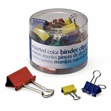 Oic Binder Clip Assortment - Mini, Small, Medium - 1 / Pack - Assorted