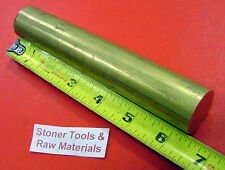 """1-1/8"""" 360 BRASS SOLID ROUND ROD 6-3/8"""" long New Lathe Bar Stock H02 1.125"""""""