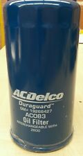 OIL FILTER RA RODEO COLORADO 3.0 DIESEL 2007-11 AC083 AcDelco New OE level Z600