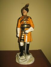 Michael Sutty porcelain figurine - Skinner's Horse Officer, Duke of York Cavalry