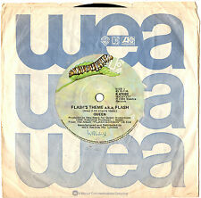 "QUEEN - FLASH'S THEME A.K.A. FLASH / FOOTBALL FIGHT - 7"" 45 VINYL RECORD 1980"