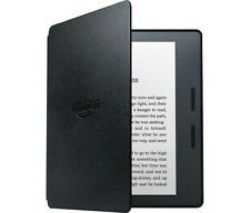 "NEW AMAZON KINDLE OASIS+LEATHER CHARGE COVER BLACK 6"" WIRELESS EREADER~IN STOCK"